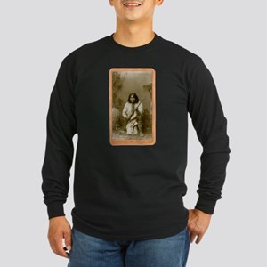 Geronimo - Apache Leader Long Sleeve Dark T-Shirt