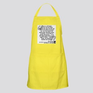 Whitman School Quote Apron