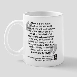 Whitman School Quote Mug