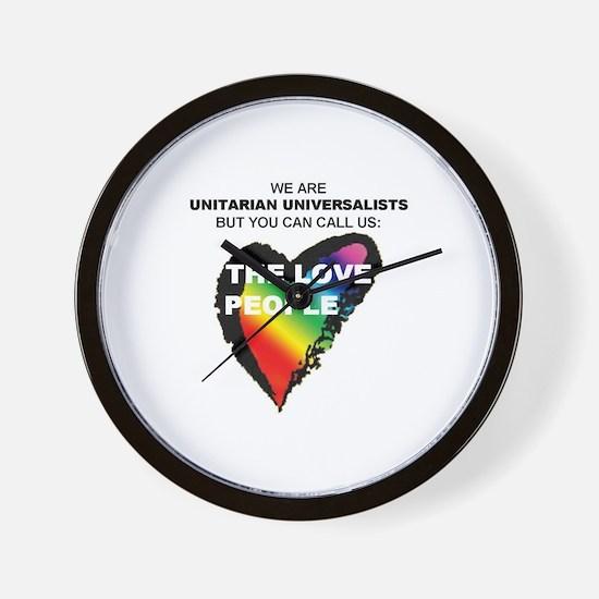 Unique Unitarian universalist Wall Clock