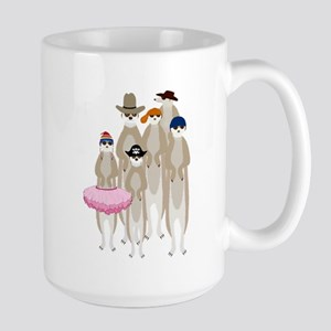 Meerkats Large Mug