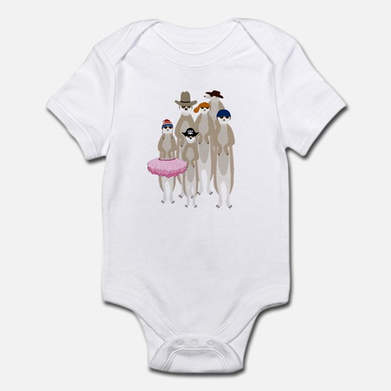 Meerkats Infant Bodysuit