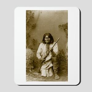 Geronimo (image only) Mousepad