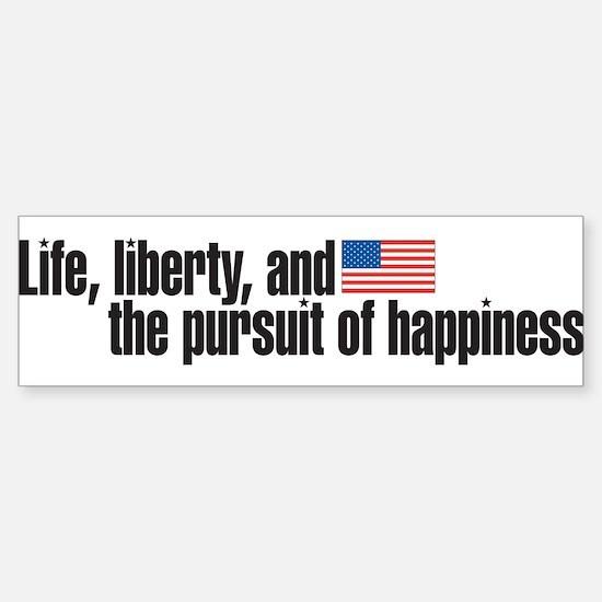 life iberty Sticker (Bumper)