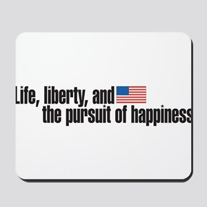 life iberty Mousepad