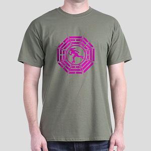 DHARMA DERBY GIRL Dark T-Shirt
