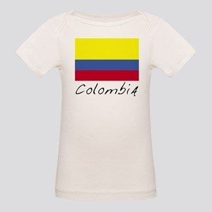 Colombia (Flag, World) Organic Baby T-Shirt