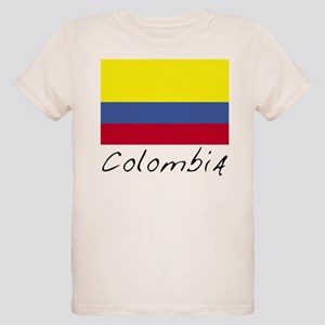 Colombia (Flag, World) Organic Kids T-Shirt