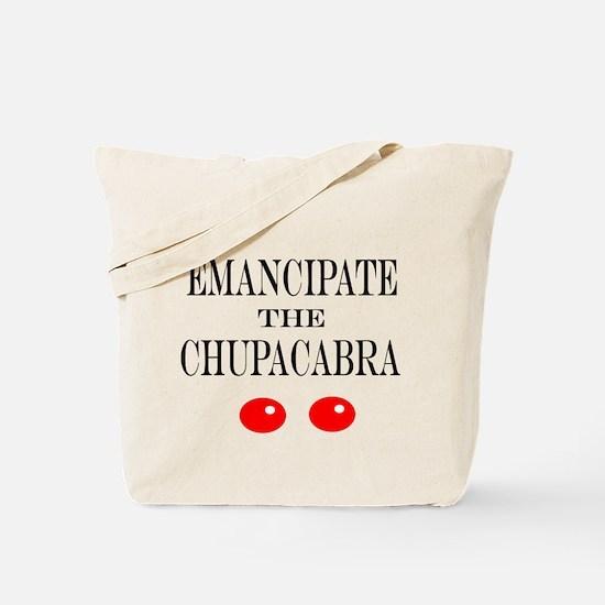 Emancipate the Chupacabra Tote Bag