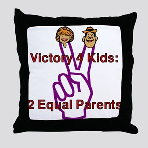 Victory 4 Kids Throw Pillow