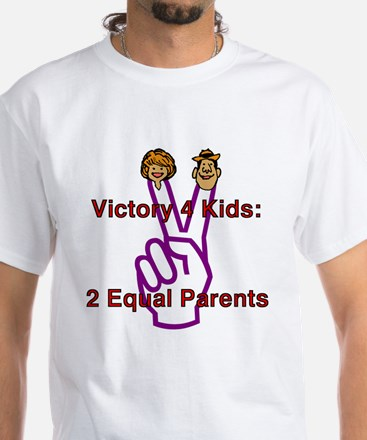 Victory 4 Kids White T-Shirt