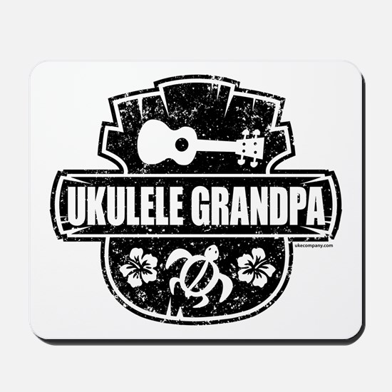 Ukulele Grandpa Mousepad