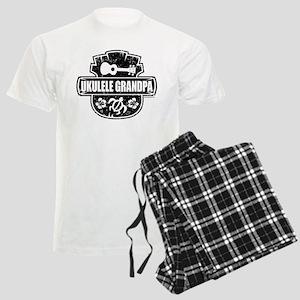 Ukulele Grandpa Men's Light Pajamas