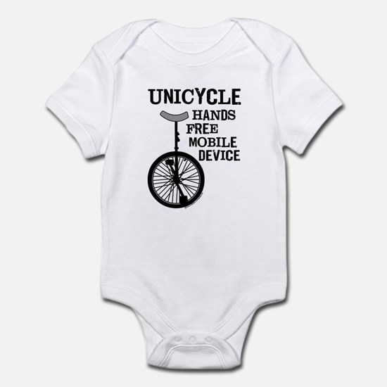 Mobile Device Bold Infant Bodysuit