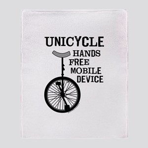 Mobile Device Bold Throw Blanket