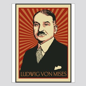 Ludwig von Mises Small Poster