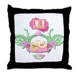 Sweet Like Candy Throw Pillow