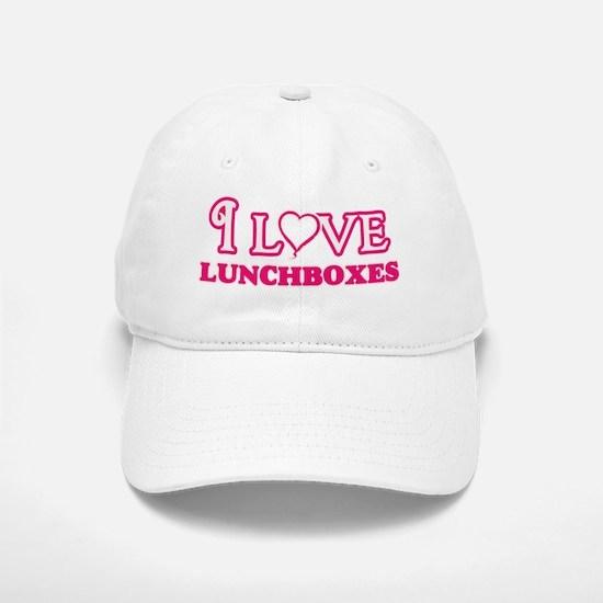 I Love Lunchboxes Baseball Baseball Cap