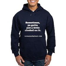 Momma Needs a Beer Hoodie (dark)