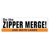 Zipper merge 10 Pack