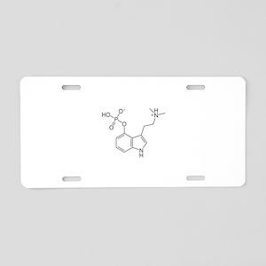 Psilocybin Aluminum License Plate