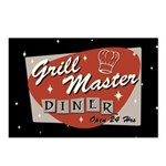 Grill Master Retro Postcards (Package of 8)