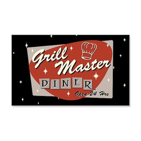 Grill Master Retro 22x14 Wall Peel