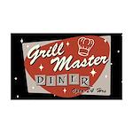 Grill Master Retro 38.5 x 24.5 Wall Peel