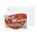 Grill Master Retro Greeting Card