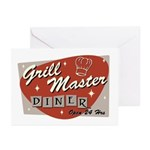 Grill Master Retro Greeting Cards (Pk of 10)