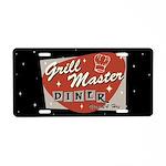 Grill Master Retro Aluminum License Plate