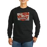 Grill Master Retro Long Sleeve Dark T-Shirt