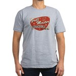 Grill Master Retro Men's Fitted T-Shirt (dark)