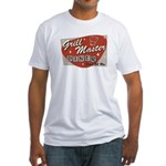 Grill Master Retro Fitted T-Shirt