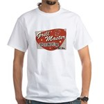 Grill Master Retro White T-Shirt