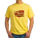 Grill Master Retro Yellow T-Shirt
