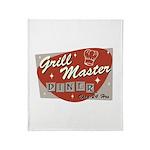 Grill Master Retro Throw Blanket