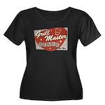 Grill Master Retro Women's Plus Size Scoop Neck Da