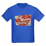 Grill Master Retro Kids Dark T-Shirt