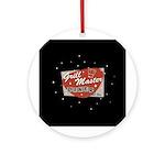 Grill Master Retro Ornament (Round)