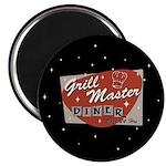 Grill Master Retro Magnet