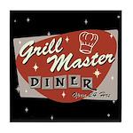 Grill Master Retro Tile Coaster
