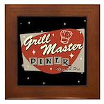 Grill Master Retro Framed Tile