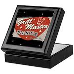 Grill Master Retro Keepsake Box