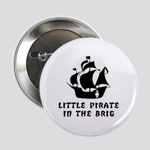 Little Pirate in the Brig Button