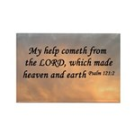 Psalm 121:2 Bible Rectangle Magnet (10 pack)