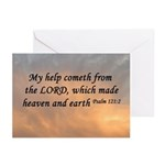 Psalm 121:2 Bible Greeting Cards (Pk of 10)
