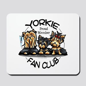 Yorkie Lover Mousepad