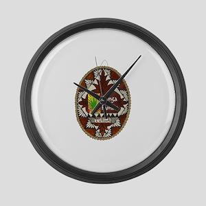 Tonga Famina Large Wall Clock