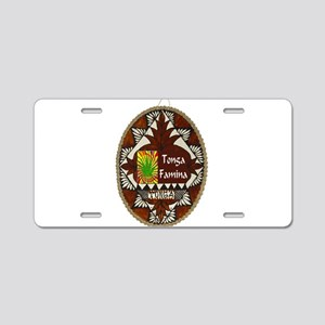 Tonga Famina Aluminum License Plate